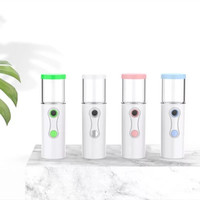 Nano Spray D8 Button On Off Facial Steamer Perawatan Wajah Mini