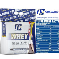 WHEY XS 5 lbs RC Whey ronnie coleman whey protein king whey