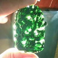 liontin Batu giok black jade bentuk naga Asli Bagus