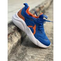 Sepatu running Ortuseight original LORA NAVY ORANGE new 2020