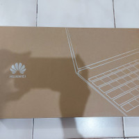 Huawei MateBook D15 Laptop, SSD 256GB, Bonus Tas+Power+Bank Mouse