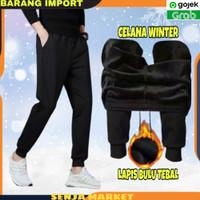 Celana Panjang Longjohn Winter Musim Dingin Outdoor Thermal Pria Cowok
