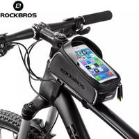 Tas sepeda layar sentuh rockbros waterproof