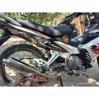 knalpot ckd / satria Fu bobokan untuk motor Jupiter MX, mx new, mx old
