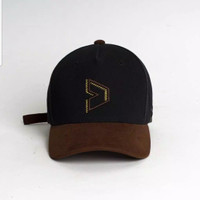 Kalibre baseball cap topi black brown exclusive Wall of Fades ORIGINAL