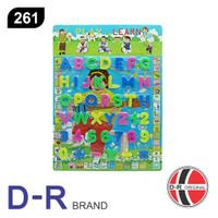 D-R 261 Mainan Edukasi Abjad & Angka ABC123