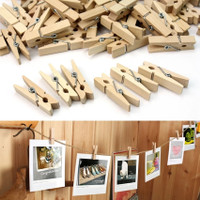 JEPIT KAYU wooden clip klip penjepit foto / jepitan