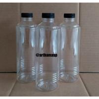 botol almond 500 ml / Botol susu kopi juice / Botol plastik 500ml
