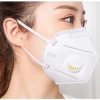 Masker KN95 Respirator N95 Katup Filter Udara 3D