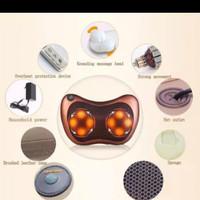 Alat mesin pijat elektrik Shiatsu Leher Bantal Pijit Car Massage