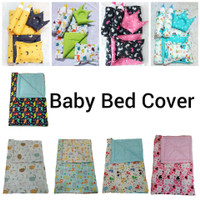 Bed Cover Bayi Set / Set Bed Cover Baby / BedSet+2 Bantal+2Guling
