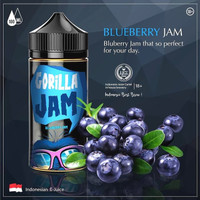 Liquid Gorilla Jam Blueberry by Indonesia juice cartel