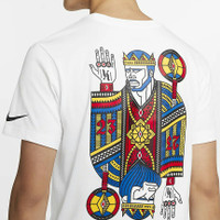 Kaos T-Shirt Men's Nike Dri-Fit LeBron James Logo Original