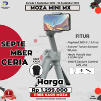 MOZA MINI MX 3-Axis Folding Stabilizer Handheld Gimbal Mobile Phones