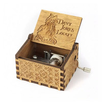 Music Box Pirates of the Caribbean - Davy Jones -Kotak Musik - Vintage