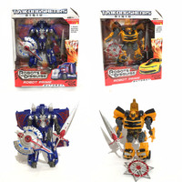 Kado Mainan Anak cowok Robot Transformers Bumble Bee Optimus Prime