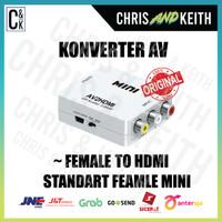 KONVERTER AV F TO HDMI STANDART F MINI + KU 5 PIN (AV2HDMI)