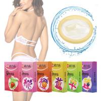 Kondom OLO Condom OIO rasa buah fruit Sensation Strawberry Grape
