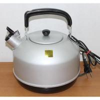 Teko Listrik MASPION 22 cm 3 Liter Whistling Electric Kettle Air Panas
