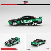 Mini GT 1/64 Nissan GT-R R32 Gr. A #87 HKS 1992 Group A.