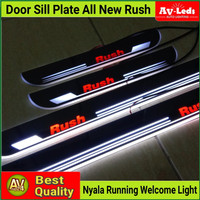 SILL PLATE SillPlate ALL NEW RUSH TERIOS WELCOME LIGHT (Audi Style)