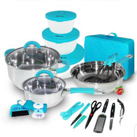 Oxone Panci Set | Kitchen Set With Bag 23pcs OX-992