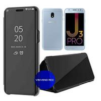 Flip Mirror Cover Case Samsung Galaxy J3Pro J3 Pro J330 J3 2017