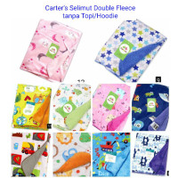 CARTERS Selimut Double Fleece [ Tanpa Topi ] Hoodie - Baby Blanket .