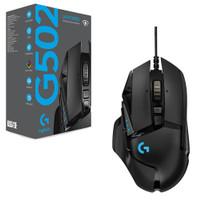 New - LOGITECH G502 Hero Gaming Mouse Resmi ORI ex Samsung Odyssey G7