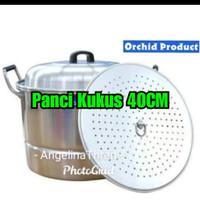 Langseng SG Orchid 40CM - Panci Kukus Alumunium tebal 40CM