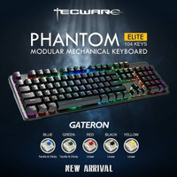 Tecware Phantom Elite 104 RGB Gateron Switch Mechanical Keyboard