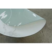 Little Wiwa Play Mat Size Cirkular 1.4m Bundar Lille Verden Marmor