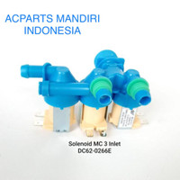 selenoid valve water inlet mesin cuci samsung cabang 3 DC62-00