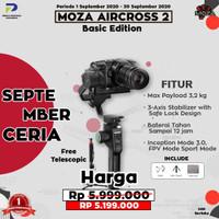 Moza AirCross 2 3-Axis Handheld Gimbal Stabilizer - Moza Air Cross 2