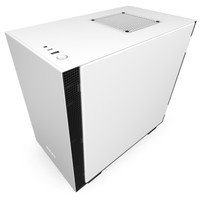 NZXT H210 Matte White Tempered Glass Mini-ITX Gaming Case