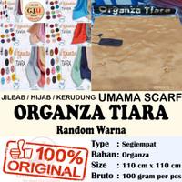 JILBAB SEGI EMPAT / HIJAB JILBAB UMAMA SCARF ORGANZA TIARA 10 PCS