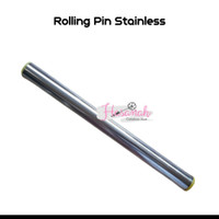 Rolling Pin Stainless Polos 30 cm