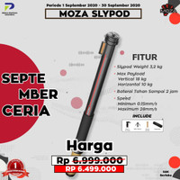Moza Slypod 2-in-1 Motorised Slider & Monopod