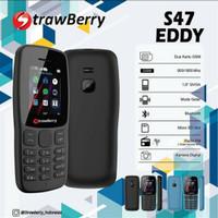 Strawberry S47 Eddy Hp Candybar 1.8 inch Dual Sim with Camera Garansi