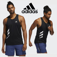 SINGLET CLAW ADIDAS / kaos gym fitnes / Baju training running pria