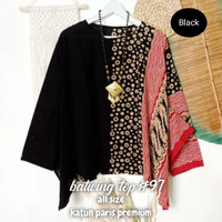 Batwing blouse Paris lowo