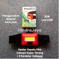 Senter Kepala / Head Lamp Mini 10W Super Terang