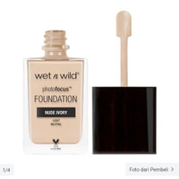 Wet n Wild Foundation Nude Ivory