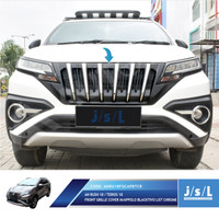 JSL Apollo Grill Depan All New Rush 2018 Front Grille Blacktivo Chrome