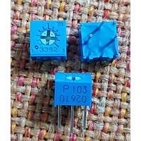 Potensiometer Multiturn 10K merk BOURNS 3362P-1-103LF