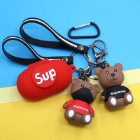 case casing cover samsung galaxy buds buds+ plus supreme bear