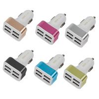 Car Charger 4 USB 3.4 Amper- Saver 4 Port - Charger Mobil 4 Port