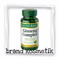 Nature s Natures Nature Bounty Ginseng Complex Plus Royal Jelly 75