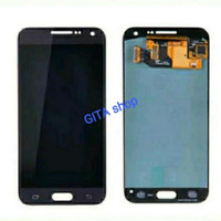 LCD SAMSUNG E500 AAA CONTRAS + TOUCHSCREEN ( GALAXY E5 ) - BLUE BLACK
