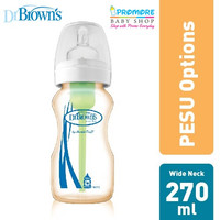 Dr. Brown's Options+ Wide Neck PESU 270ml